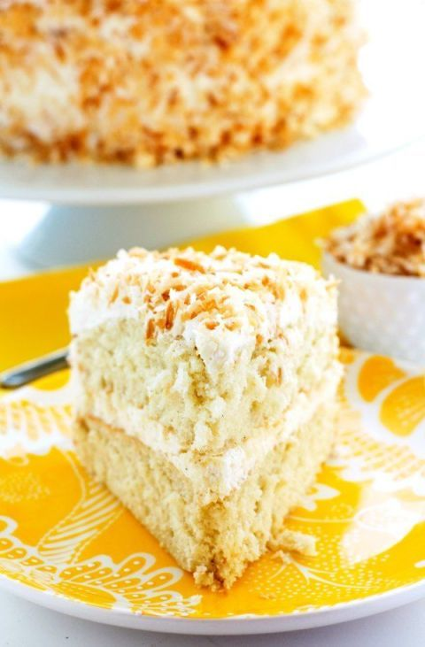 13 easy coconut cake recipes how to make easy coconut cakes for Best ever apple cake country living