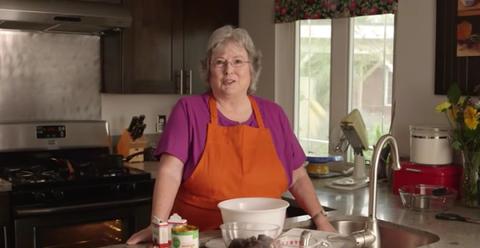 Youtube Granny Bakes A Vegan Cake