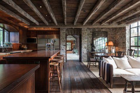 Room, Building, Property, Interior design, Furniture, Home, House, Ceiling, Wood, Hardwood,