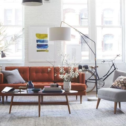 Room, Interior design, Furniture, Bicycle wheel, Table, Coffee table, Couch, Interior design, Home, Living room,