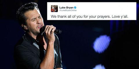 Luke Bryan's niece has died