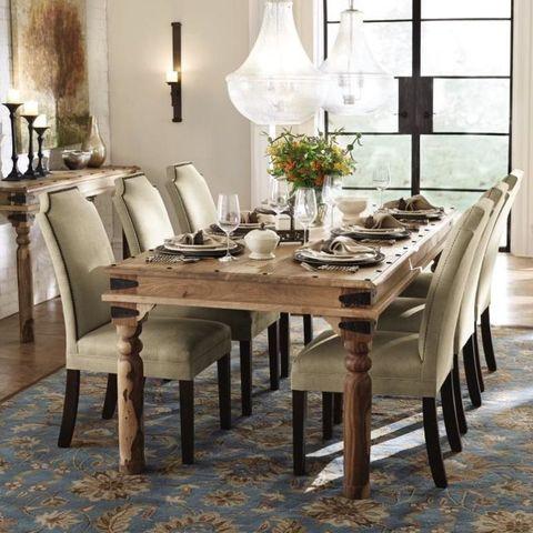 Room, Interior design, Table, Furniture, Floor, Glass, Dining room, Interior design, Home accessories, Grey,