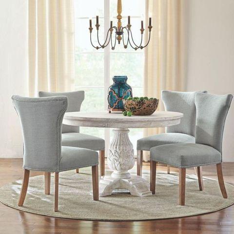 Wood, Floor, Room, Interior design, Flooring, Furniture, Hardwood, Table, Home, Teal,