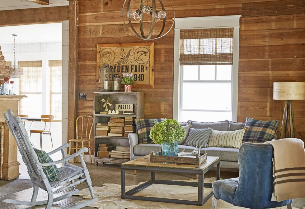 farmhouse decor farmhouse style living room decor split modern apartment decorating ideas Country Living Magazine