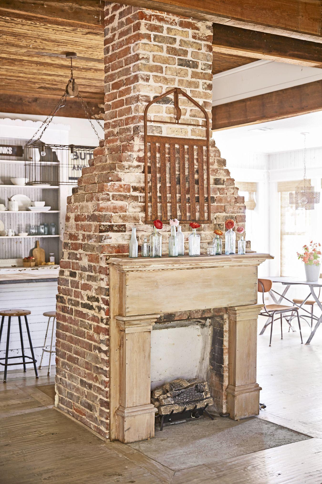 image & 40+ Fireplace Design Ideas - Fireplace Mantel Decorating Ideas
