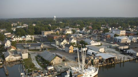 Aerial photography, Harbor, Marina, Boat, Waterway, Vehicle, City, Port, Urban area, Photography,