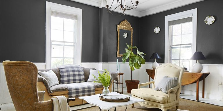Interior paint finishes how to pick a paint finish for Satin or eggshell for living room