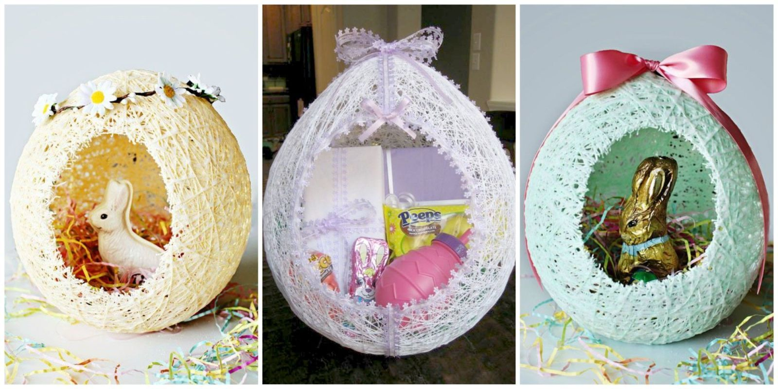 Perfect Homemade Easter Baskets Are Quickly Becoming The New Go To Gift And  Decoration For The Springtime Holiday. Rather Than Using The Typical  Store Bought ...
