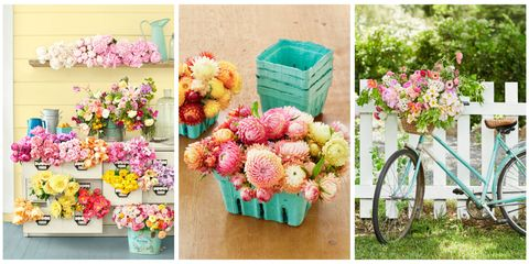 11 Beautiful Ways To Use Vintage Pieces For Flower Displays