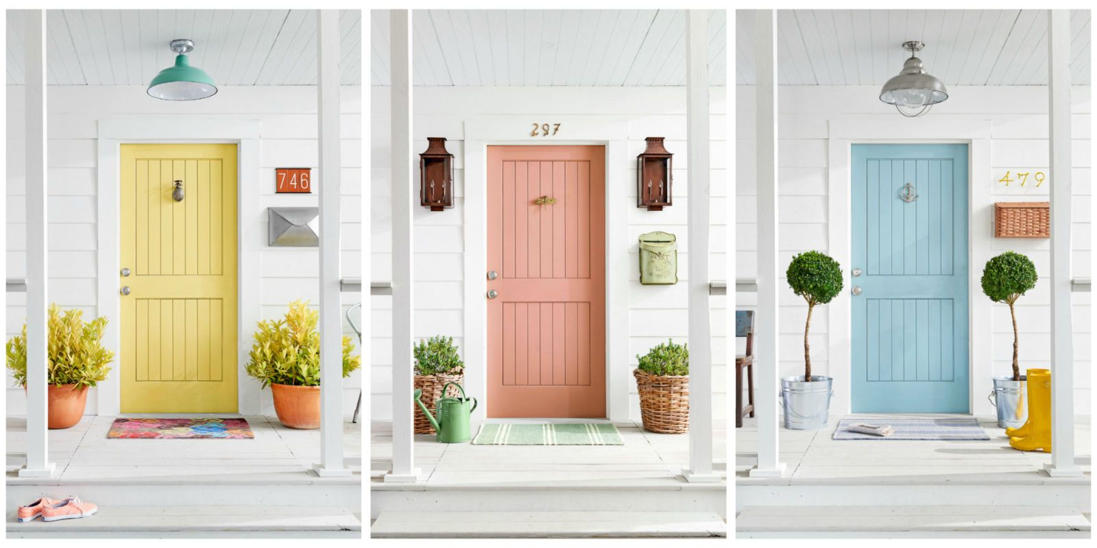 Whether Itu0027s Seafoam Green Or Fire Engine Red, Painting Your Front Door A  Bold Color Makes A Statement. Find Out What Yours Says About You, ...