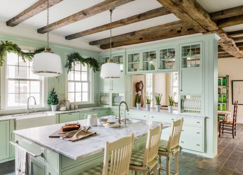 Interior Design Kitchen Colors | 15 Best Kitchen Color Ideas Paint And Color Schemes For Kitchens