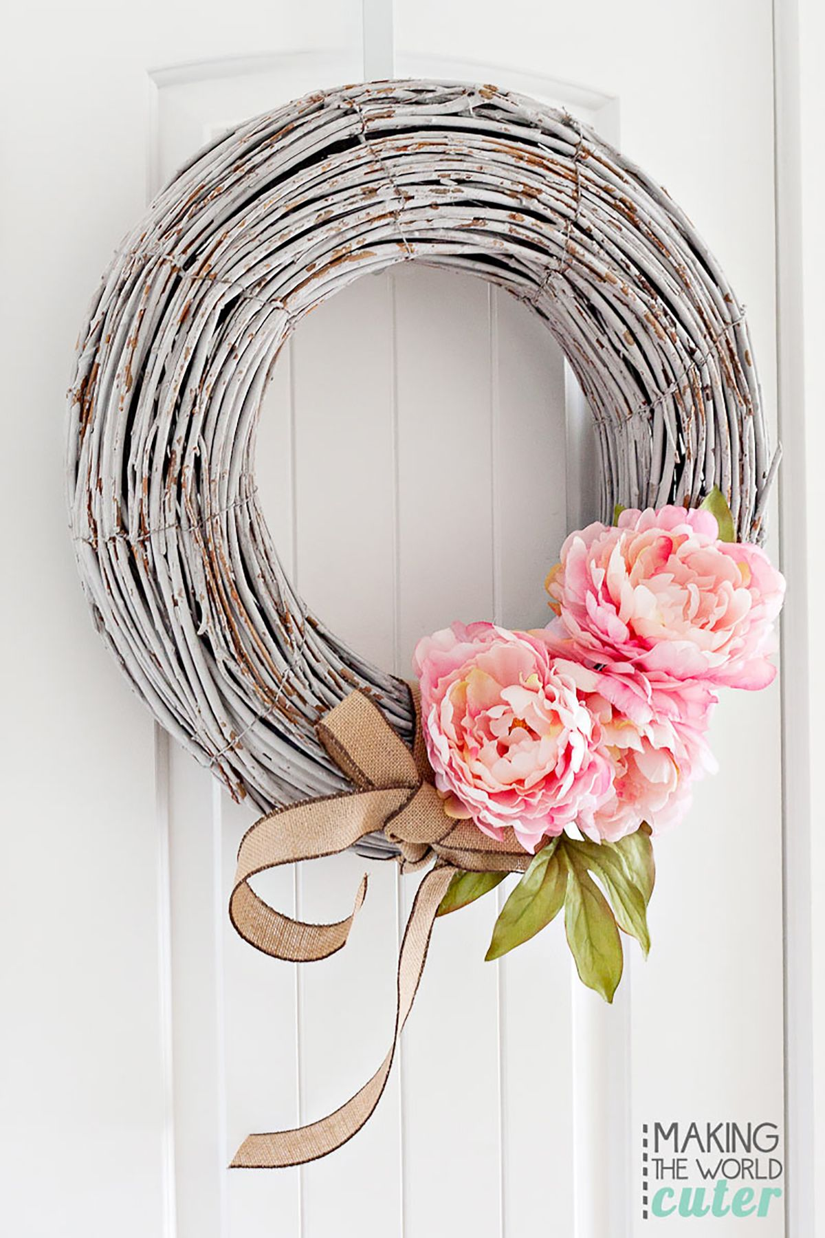 Superior Spring Wreath Ideas Part - 7: Country Living Magazine