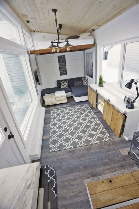 This Might Be The Most Open Tiny Home We Have Ever Seen