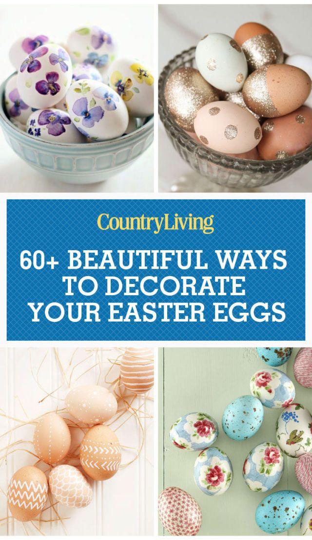 60 fun easter egg designs creative ideas for easter egg rh countryliving com