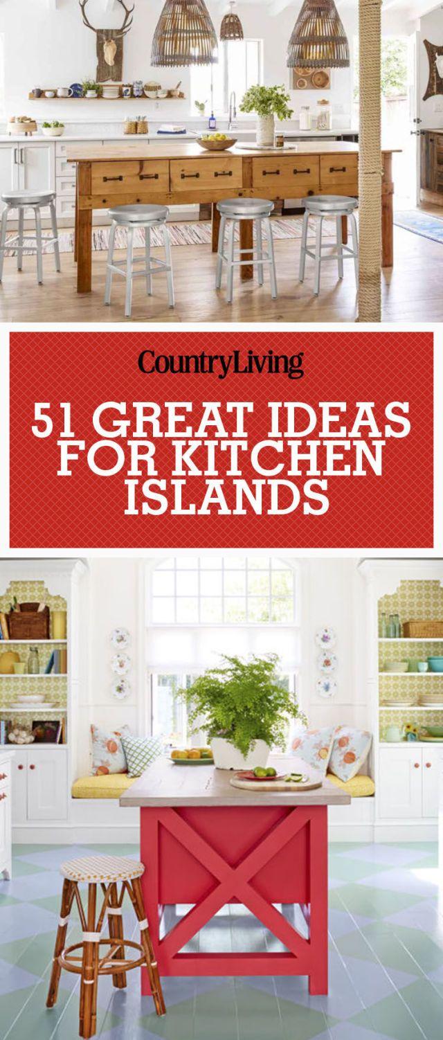 Save These Ideas! Save these kitchen island ideas for ... & 50+ Best Kitchen Island Ideas - Stylish Designs for Kitchen Islands