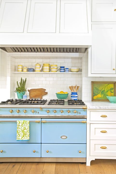 Furniture, White, Drawer, Cabinetry, Chest of drawers, Yellow, Kitchen, Room, Hutch, Turquoise,