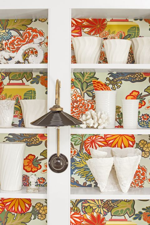 Orange, Textile, Room, Interior design, Tableware,