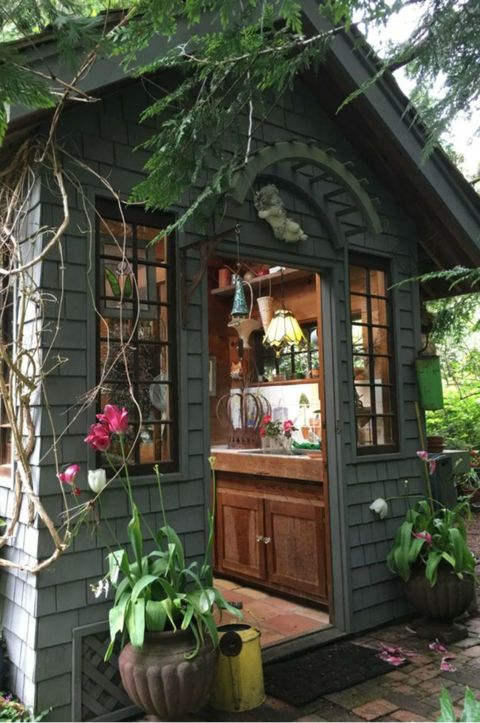 19 Whimsical Garden Shed Designs Storage Shed Plans