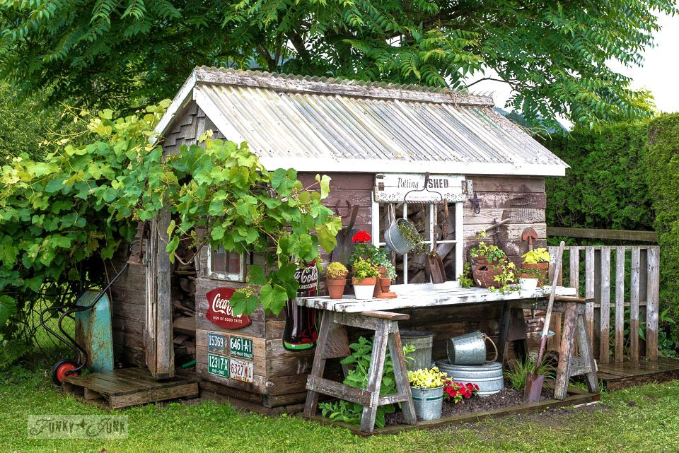 19 Whimsical Garden Shed Designs Storage Shed Plans &