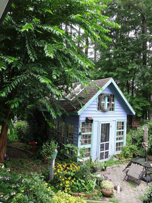 19 Whimsical Garden Shed Designs - Storage Shed Plans & Pictures on kitchen window lighting ideas, kitchen window backsplash ideas, kitchen window seating ideas, kitchen window casing ideas, kitchen window cabinet ideas, kitchen window shelf ideas, kitchen window decor ideas,