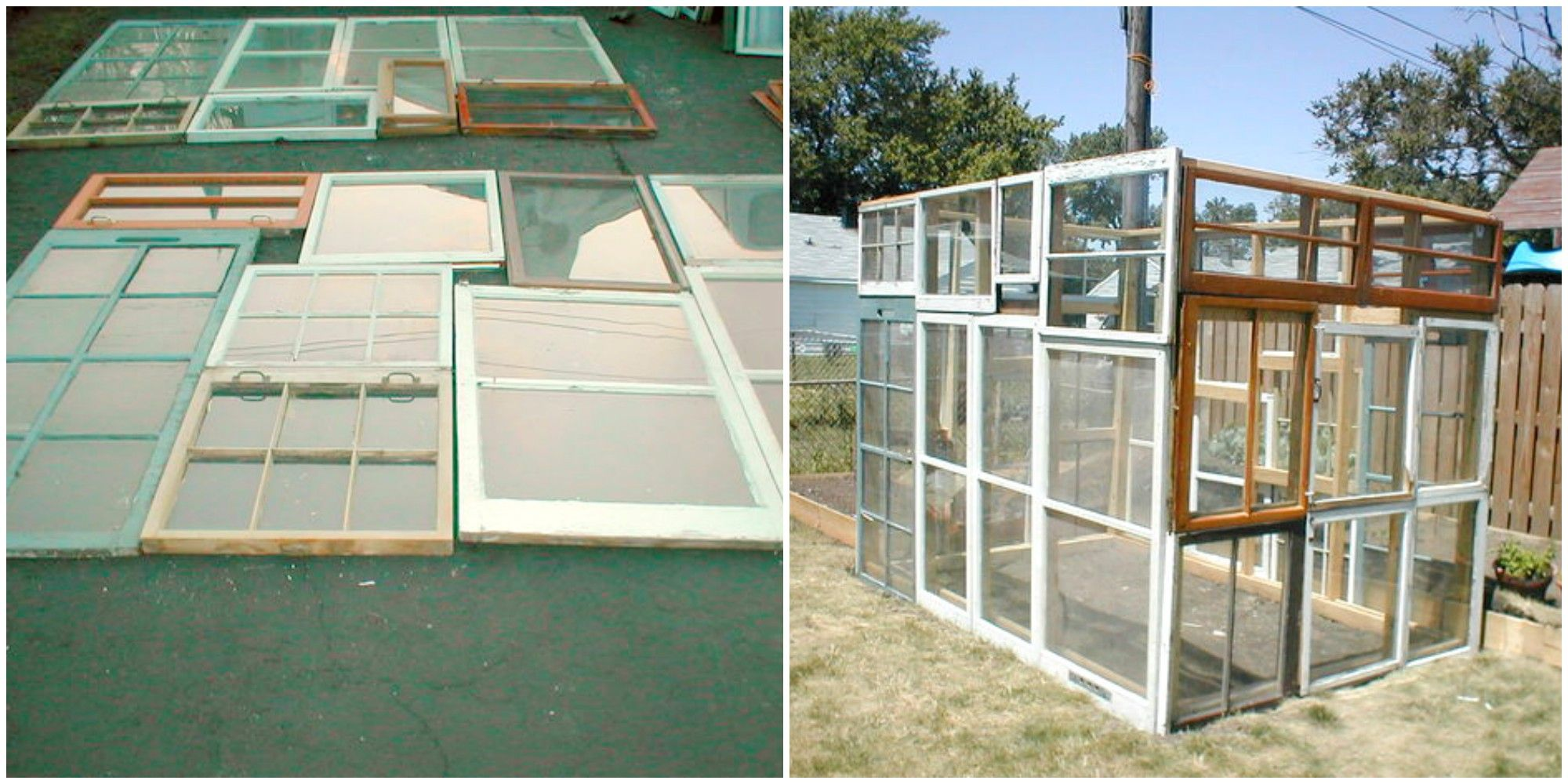 How To Make A Gorgeous Greenhouse From Vintage Windows Easy Diy