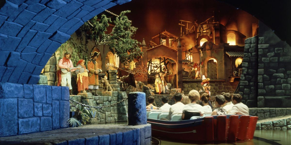 Disneyland S Pirates Of The Caribbean Is 50 Years Old