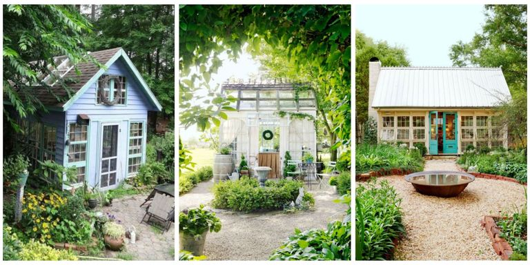 14 whimsical garden shed designs storage shed plans for Whimsical cottage house plans