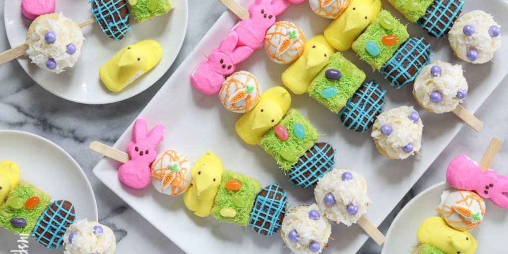 Peeps Kabobs Are the Easter Dessert We Wish We'd Thought ...