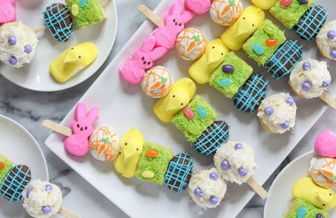 Food, Ice cream cone, Frozen dessert, Confectionery, Peeps, Sweetness, Candy, Fashion accessory, Cuisine,