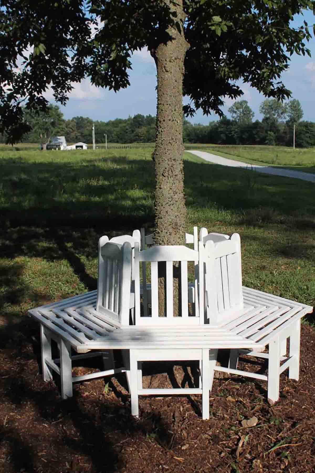 decorifusta benches your patio give yard decor bench look classic to
