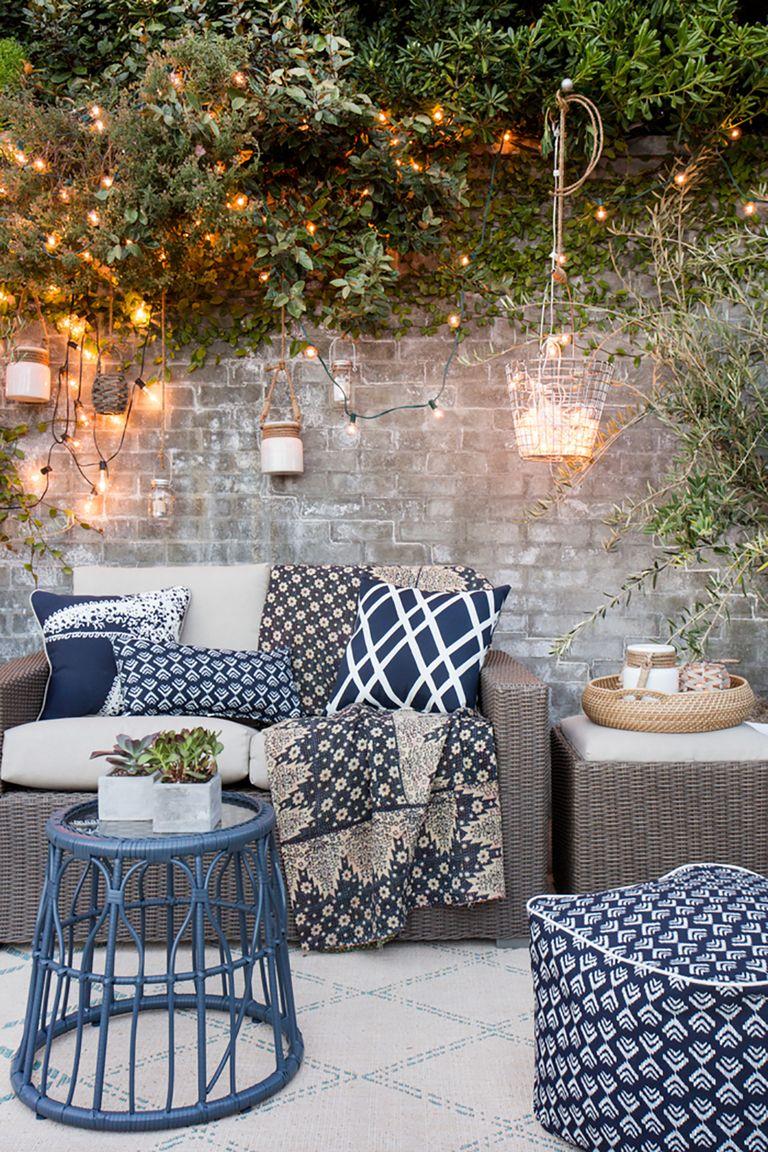 20 Backyard Lighting Ideas - How to Hang Outdoor String Lights