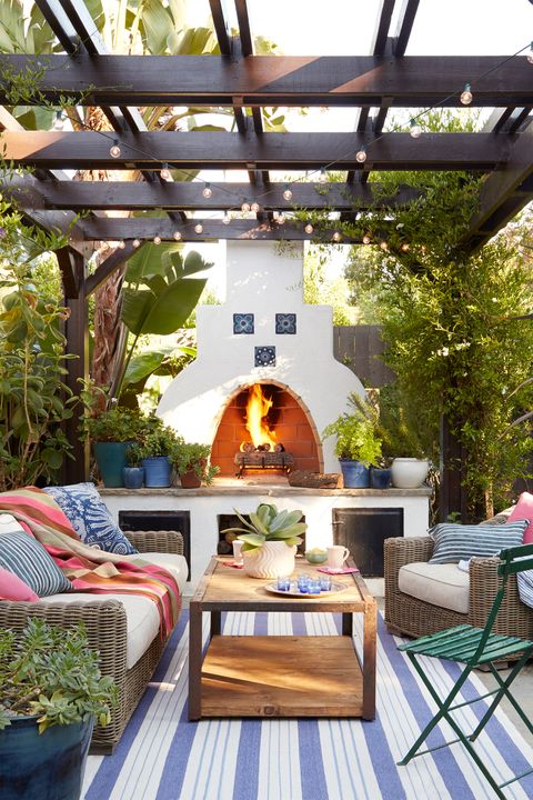 76 Best Patio Designs for 2020 - Ideas for Front Porch and ...