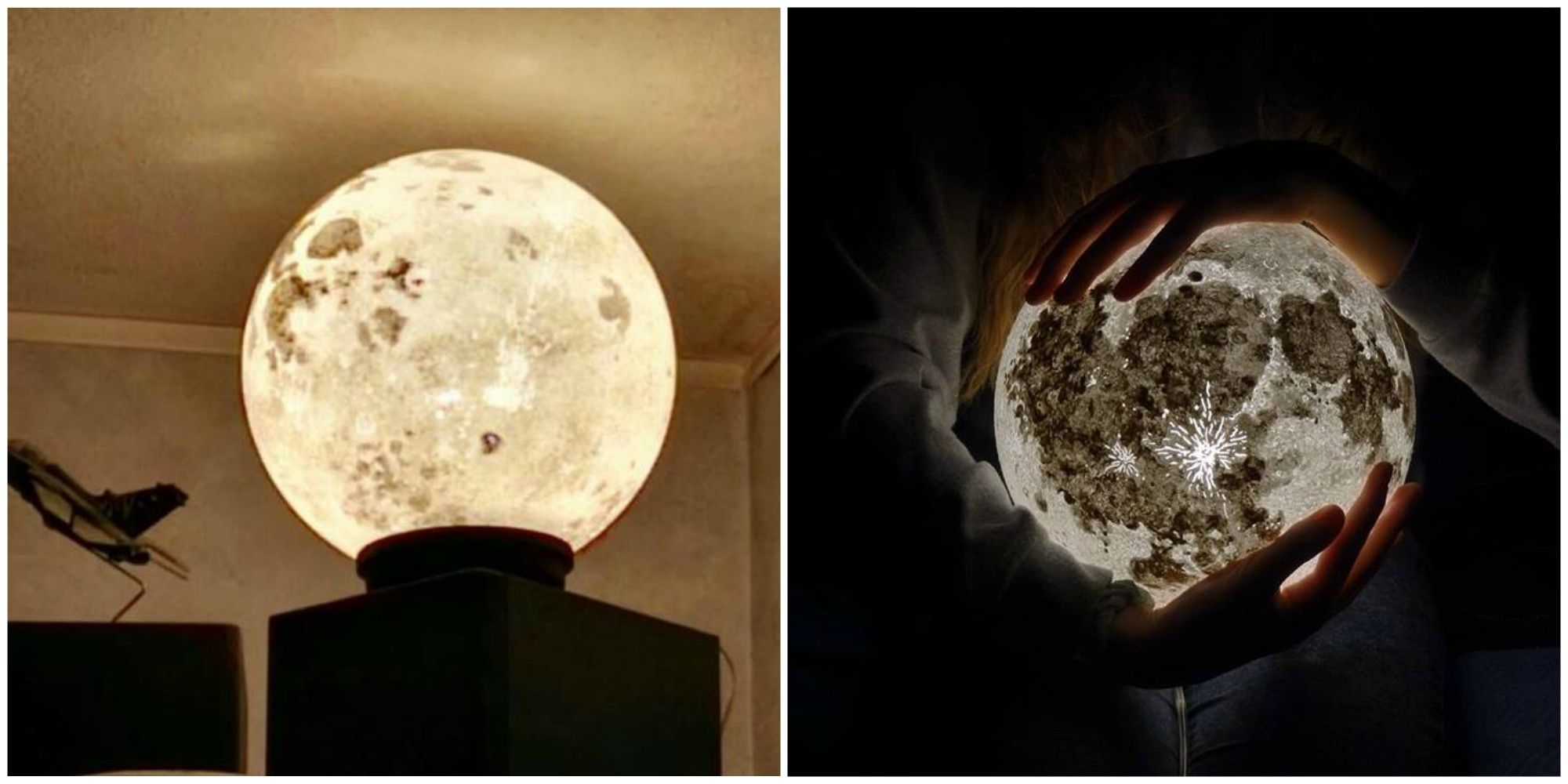 Enjoy Full Moon Every Night With These Lamps From Pulsar Moonlight for Moon Lamp Hanging  285eri