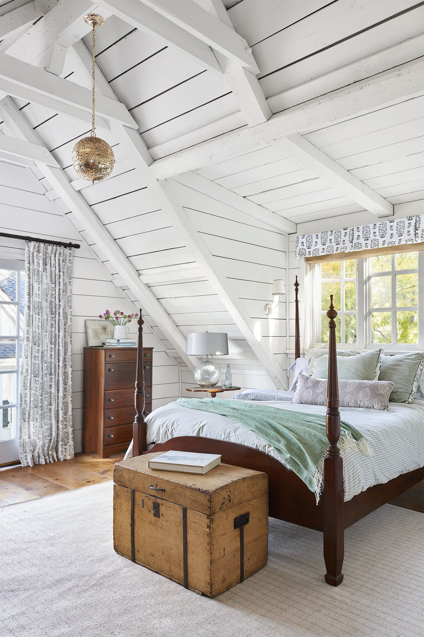 Country Bedrooms Ideas Part - 18: Country Living Magazine