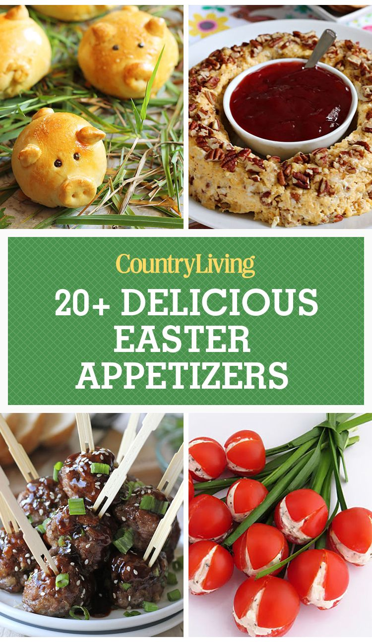 21 easy easter appetizers - best recipes for easter app ideas