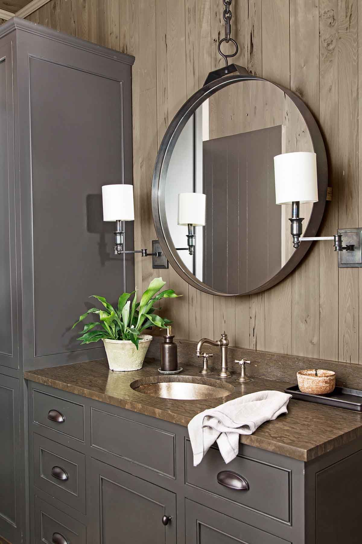37 rustic bathroom decor ideas - rustic modern bathroom designs
