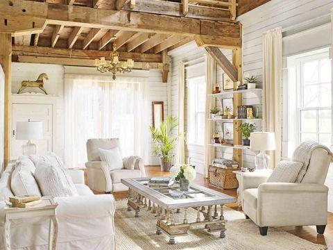 30 White Living Room Decor - Ideas for White Living Room ...