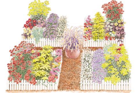 48 Free Garden Design Ideas And Plans Beauteous Cutting Garden Design Plans