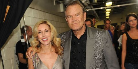 Glen Campbell and his wife, Kim