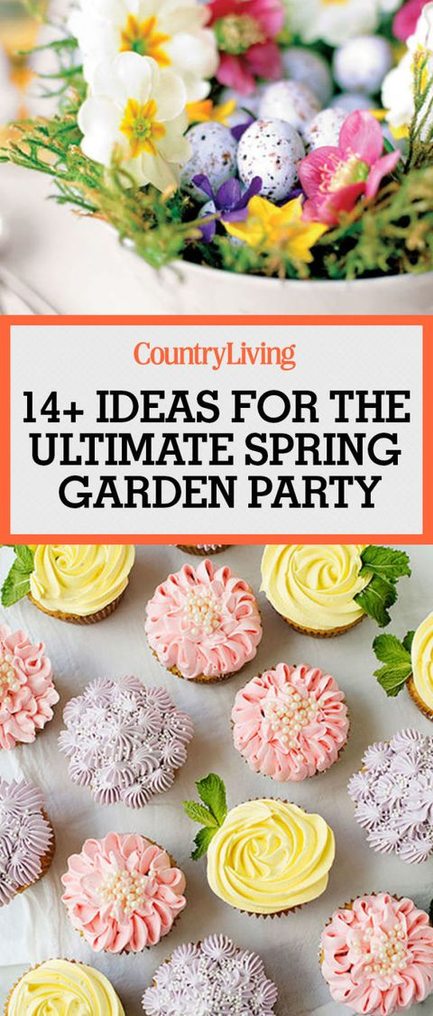 18 Garden Party Decorations And Ideas How To Host A Garden Tea - Garden-parties-ideas