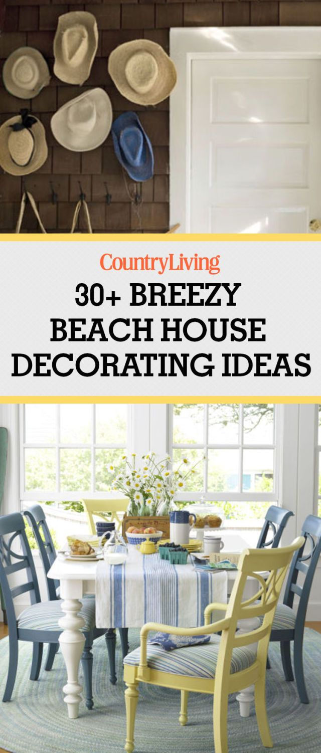 42 beach house decorating ideas beach home decor ideas rh countryliving com