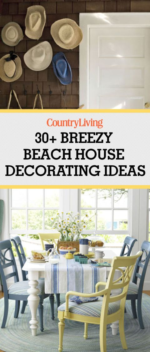 Beach House Decorating Decor Ideas Country Living Staff