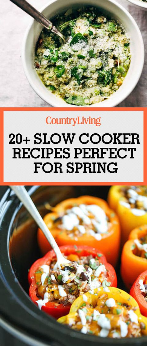 spring slow cooker recipes