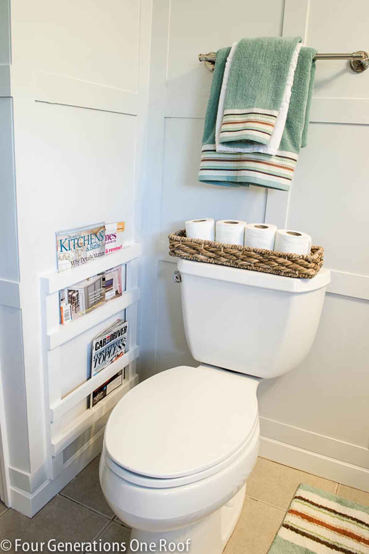 20 Best Bathroom Organization Ideas - DIY Bathroom Storage Organizers