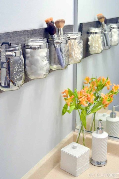 bathroom organization ideas. Courtesy of DIY Playbook