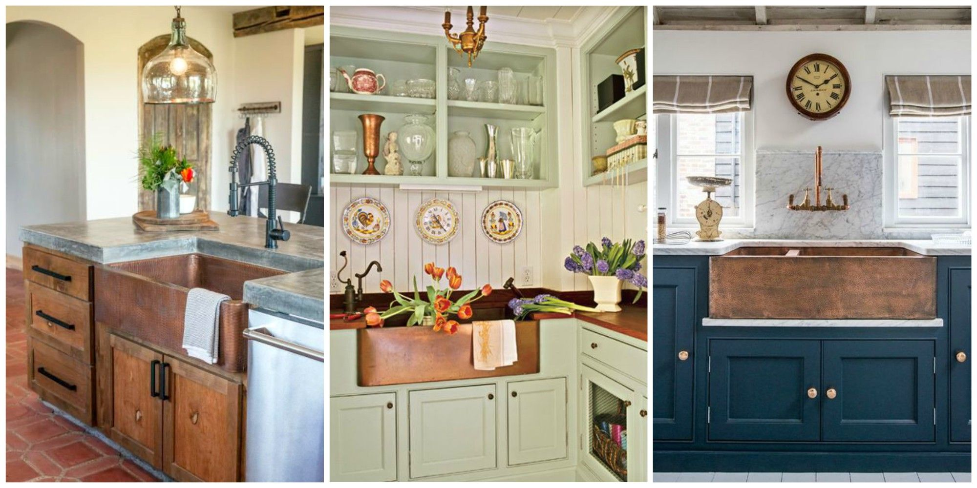 A Copper Farmhouse Sink is the Statement Piece Your Kitchen ...