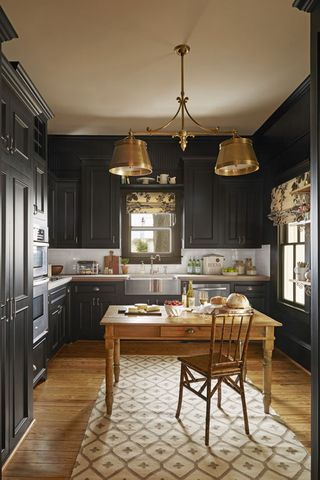 Black Kitchens Are The New White Kitchen Cabinets And More