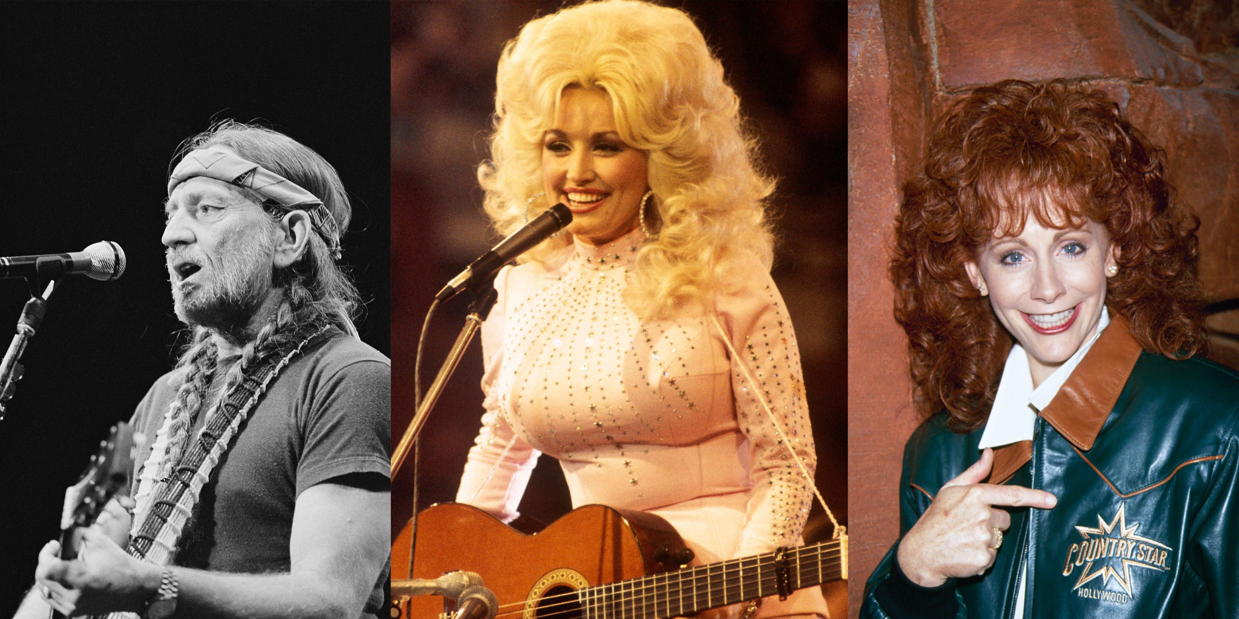 What blonde country music sex symbol sang her