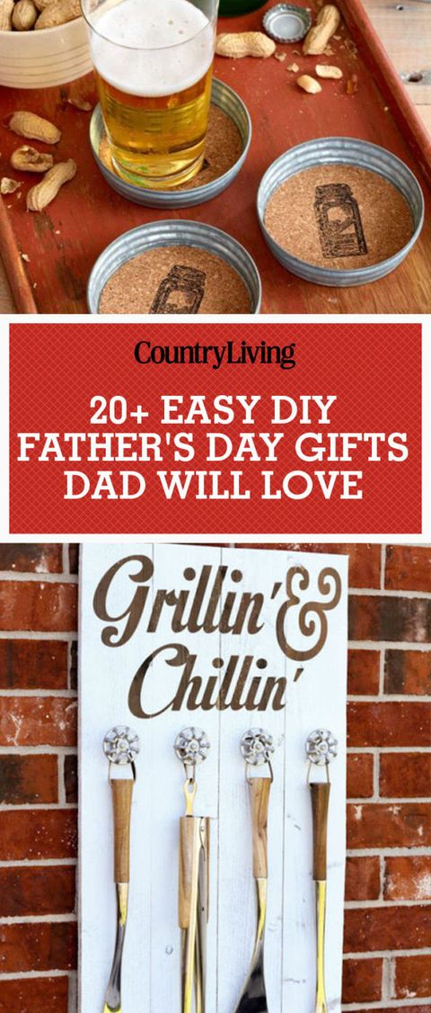 28 DIY Fathers Day Gifts - Homemade Craft Ideas for Father ...