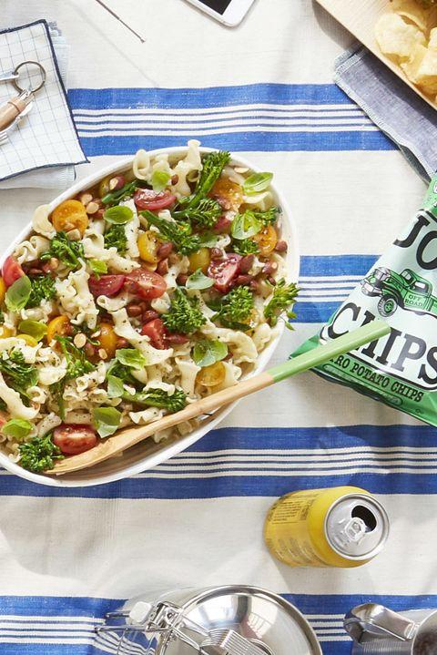 bbq side dishesbroccolini pasta salad